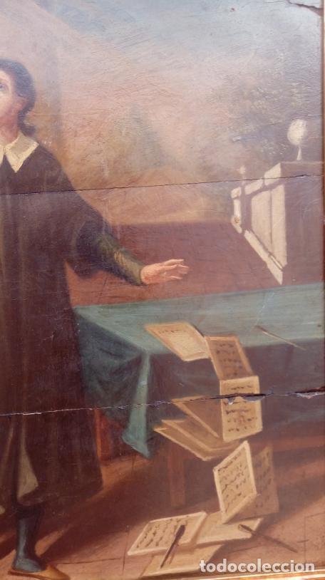 Arte: ÓLEO S/TABLA -SANTA BÁRBARA-. FINALES S. XV-PRINCIPIOS S. XVI -ESC ESPAÑOLA-. DIM.- 93,5X76,5 CMS - Foto 5 - 213253300