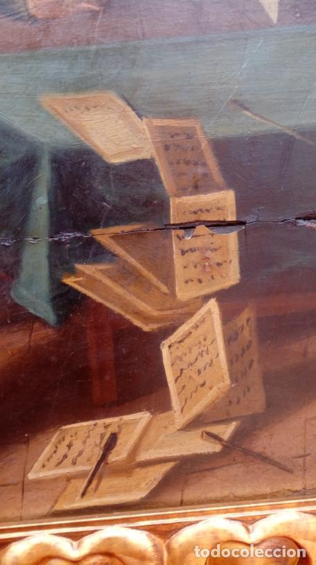 Arte: ÓLEO S/TABLA -SANTA BÁRBARA-. FINALES S. XV-PRINCIPIOS S. XVI -ESC ESPAÑOLA-. DIM.- 93,5X76,5 CMS - Foto 7 - 213253300