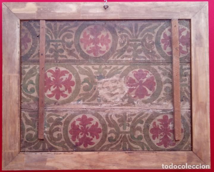 Arte: ÓLEO S/TABLA -SANTA BÁRBARA-. FINALES S. XV-PRINCIPIOS S. XVI -ESC ESPAÑOLA-. DIM.- 93,5X76,5 CMS - Foto 11 - 213253300