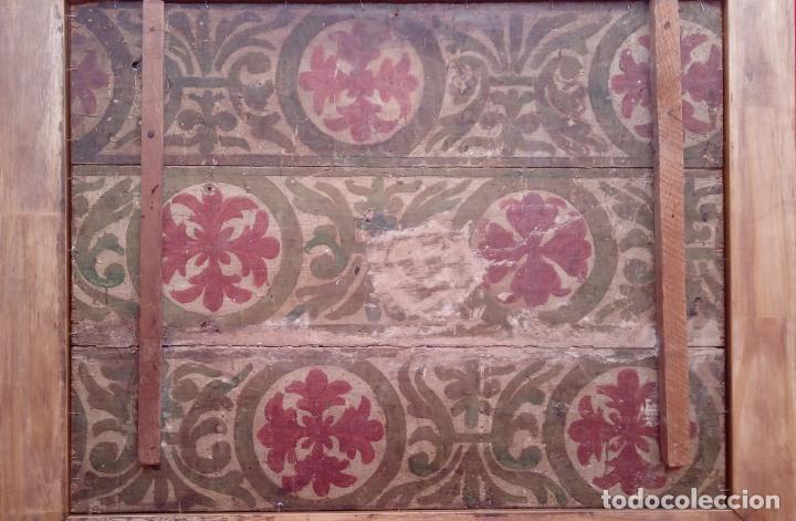 Arte: ÓLEO S/TABLA -SANTA BÁRBARA-. FINALES S. XV-PRINCIPIOS S. XVI -ESC ESPAÑOLA-. DIM.- 93,5X76,5 CMS - Foto 12 - 213253300