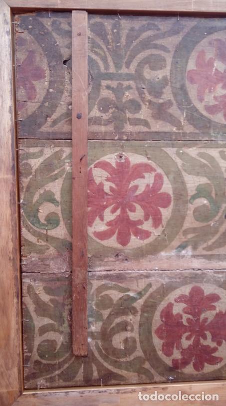 Arte: ÓLEO S/TABLA -SANTA BÁRBARA-. FINALES S. XV-PRINCIPIOS S. XVI -ESC ESPAÑOLA-. DIM.- 93,5X76,5 CMS - Foto 13 - 213253300