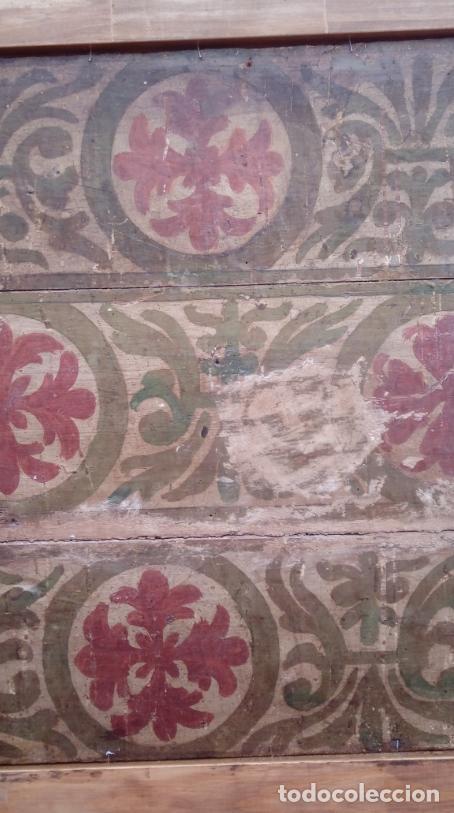 Arte: ÓLEO S/TABLA -SANTA BÁRBARA-. FINALES S. XV-PRINCIPIOS S. XVI -ESC ESPAÑOLA-. DIM.- 93,5X76,5 CMS - Foto 14 - 213253300