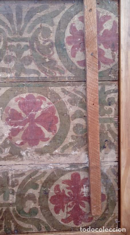 Arte: ÓLEO S/TABLA -SANTA BÁRBARA-. FINALES S. XV-PRINCIPIOS S. XVI -ESC ESPAÑOLA-. DIM.- 93,5X76,5 CMS - Foto 15 - 213253300