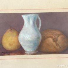 Arte: BODEGÓN DE GONZALO JIMÉNEZ 1943 MADRID. OLEO.. Lote 213532725