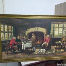 Arte: GRAN PINTURA SOBRE LIENZO FIRMADA X EL PINTOR J.FORTUNY 159X91 CON MARCO. Lote 213665071