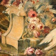 Arte: ESCUELA VALENCIANA DE AUTOR ANONIMO. OLEO SOBRE TELA DE APROX. 1900. COMPOSICION. Lote 213756912