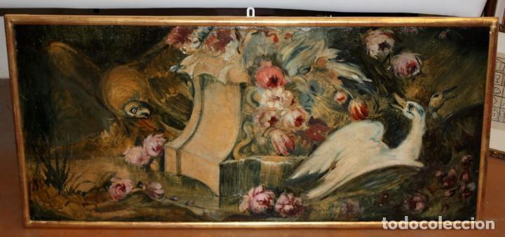 Arte: ESCUELA VALENCIANA DE AUTOR ANONIMO. OLEO SOBRE TELA DE APROX. 1900. COMPOSICION - Foto 2 - 213756912