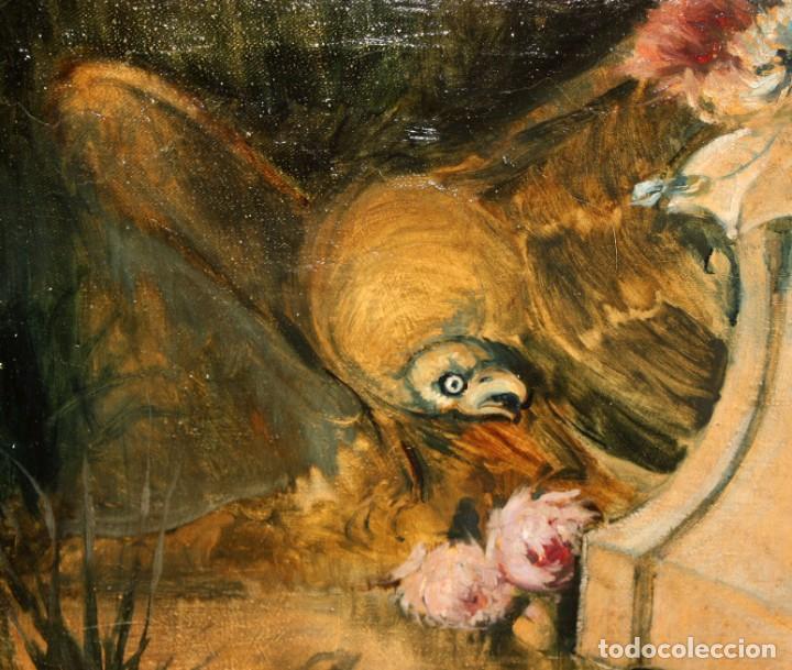 Arte: ESCUELA VALENCIANA DE AUTOR ANONIMO. OLEO SOBRE TELA DE APROX. 1900. COMPOSICION - Foto 4 - 213756912