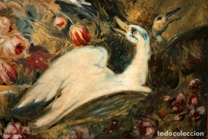 Arte: ESCUELA VALENCIANA DE AUTOR ANONIMO. OLEO SOBRE TELA DE APROX. 1900. COMPOSICION - Foto 5 - 213756912
