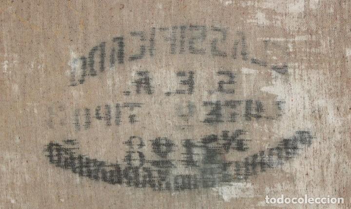 Arte: ESCUELA VALENCIANA DE AUTOR ANONIMO. OLEO SOBRE TELA DE APROX. 1900. COMPOSICION - Foto 13 - 213756912