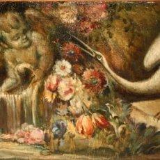 Arte: ESCUELA VALENCIANA DE AUTOR ANONIMO. OLEO SOBRE TELA DE APROX. 1900. COMPOSICION. Lote 213757093