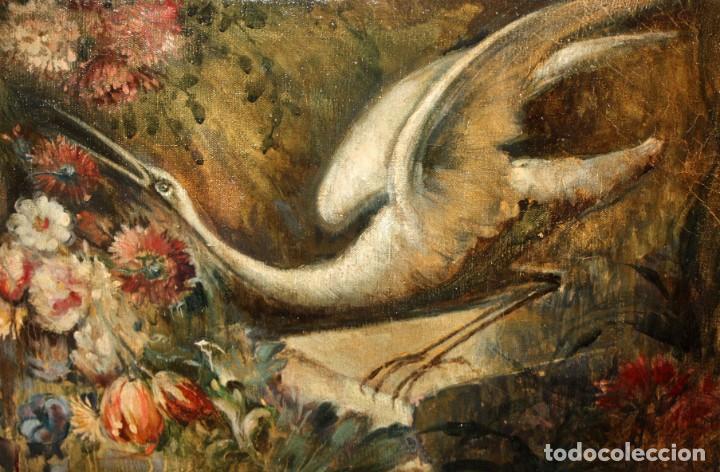 Arte: ESCUELA VALENCIANA DE AUTOR ANONIMO. OLEO SOBRE TELA DE APROX. 1900. COMPOSICION - Foto 6 - 213757093