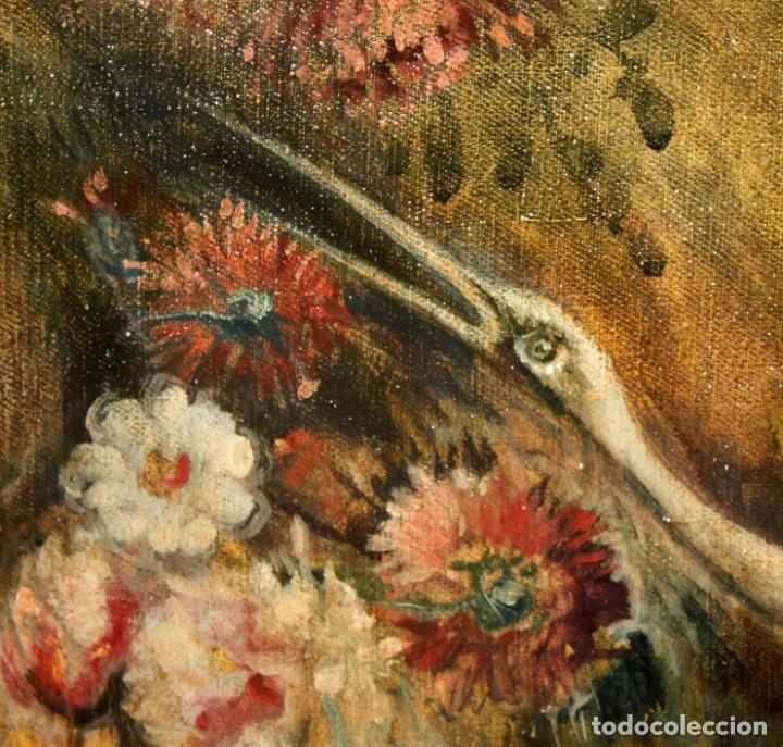 Arte: ESCUELA VALENCIANA DE AUTOR ANONIMO. OLEO SOBRE TELA DE APROX. 1900. COMPOSICION - Foto 7 - 213757093