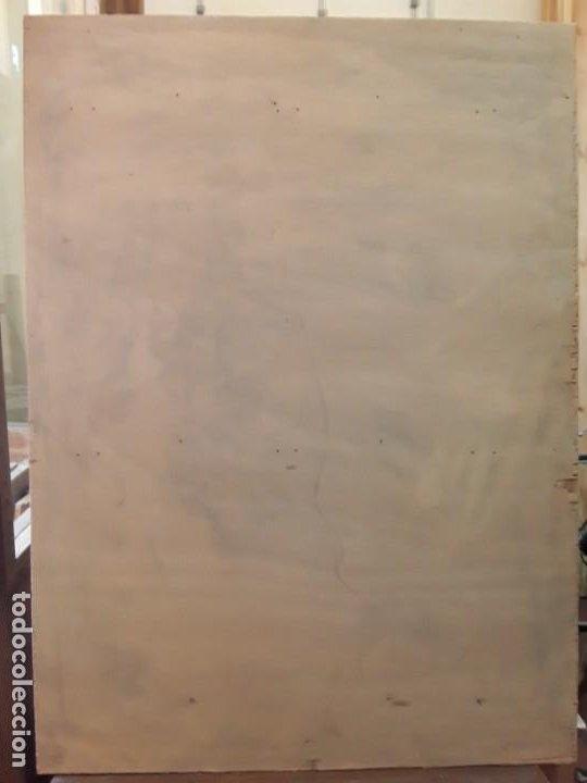 Arte: Grup Nonell. Pintura sobre tabla. - Foto 2 - 213867620