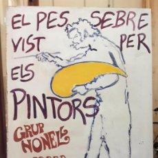 Arte: PINTURA SOBRE TABLA, GRUP NONELL. Lote 213869665