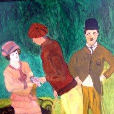 Arte: CHARLIE CHAPLIN EL LADRON. Lote 199663747