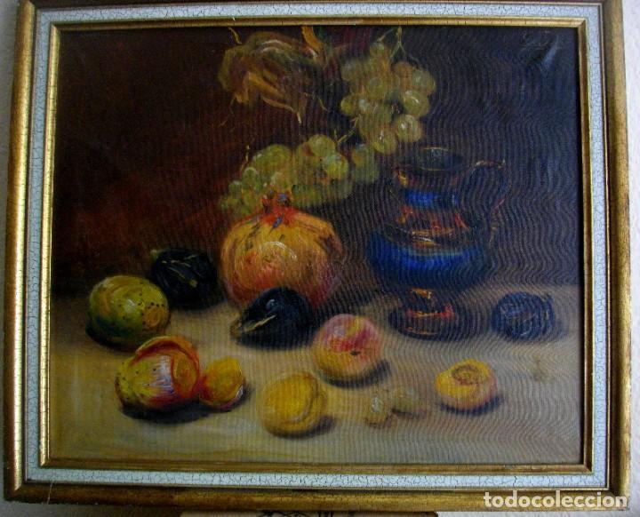 PINTURA AL OLEO FIRMADA ( GARCES ) J, M, GARCES DE MARCILLA 1880- 1932 ( 52 X 45 CTMS (Arte - Pintura - Pintura al Óleo Moderna siglo XIX)