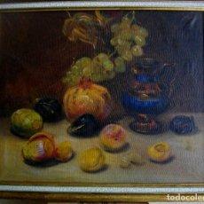 Arte: PINTURA AL OLEO FIRMADA ( GARCES ) J, M, GARCES DE MARCILLA 1880- 1932 ( 52 X 45 CTMS. Lote 213912271
