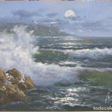 Arte: OLEO DEL PINTOR MARIO ROIG VIDAL. Lote 214103138