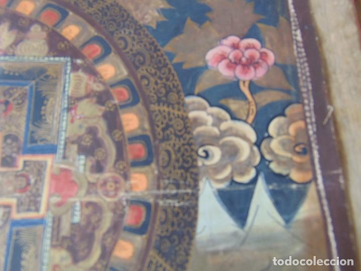 Arte: PINTURA OLEO O SIMILAR ORIENTAL PARAÍSO HINDÚ ?? CHINA ?? INDIA ?? SOBRE LIENZO FINO SELLADO - Foto 8 - 214109280