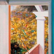 Arte: ALFONSO ALBACETE ACRÍLICO LIENZO INTERIOR Nº 11 FIRMADO FECHADO 2004 GALERÍA AMPARIO GÁMIR 150 X 110. Lote 214269478