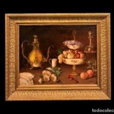 Arte: BODEGON DE VALENTIN ESPARZA, EXCELENTE CALIDAD. Lote 214281346