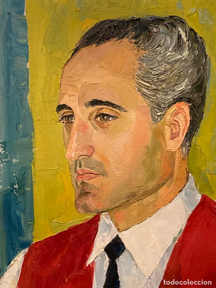 Arte: Retrato de hombre por Bjørg Larsen (1919-2003) - Foto 5 - 214310273