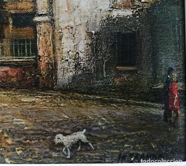 Arte: PINTOR HENRI FRANDO - ÓLEO IGLÉSIA SAINT PIERRE MONTMATRÉ - Foto 4 - 214354613