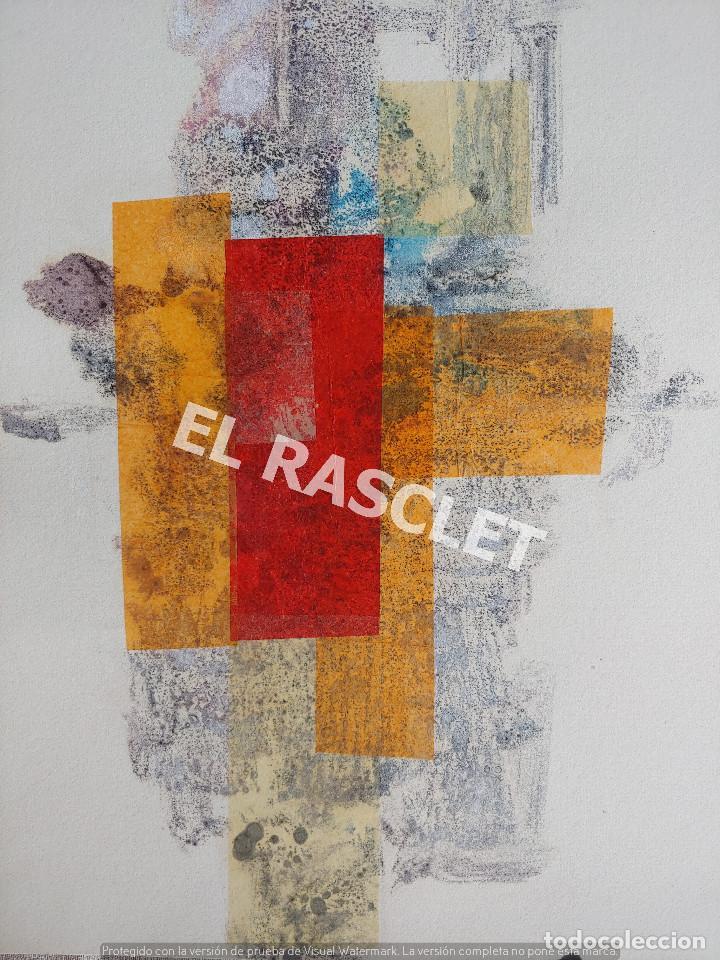 PINTURA ABSTRACTA - JOSEP MARFA GUARRO DE BCN - SPAIN - (Arte - Pintura Directa del Autor)