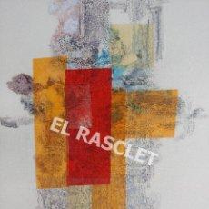 Arte: PINTURA ABSTRACTA - JOSEP MARFA GUARRO DE BCN - SPAIN -. Lote 214368770