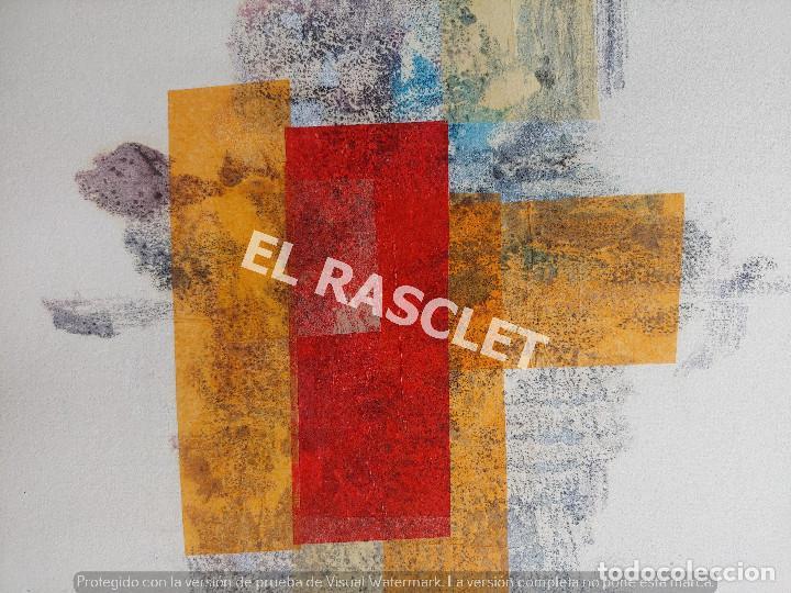 Arte: PINTURA ABSTRACTA - JOSEP MARFA GUARRO DE BCN - SPAIN - - Foto 3 - 214368770
