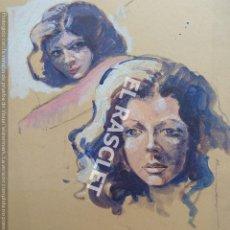 Arte: PINTURA DIBUJO - MODELO DEL SR. JOSEP MARFA GUARRO DE BCN - SPAIN -. Lote 214369050
