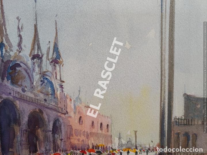 Arte: PINTURA ACURELA DE - VENEZIA - JOSEP MARFA GUARRO DE BCN - SPAIN - - Foto 2 - 214370896