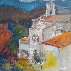 Arte: PINTURA ACURELA DE - LLANÇA - JOSEP MARFA GUARRO DE BCN - SPAIN -. Lote 214371432