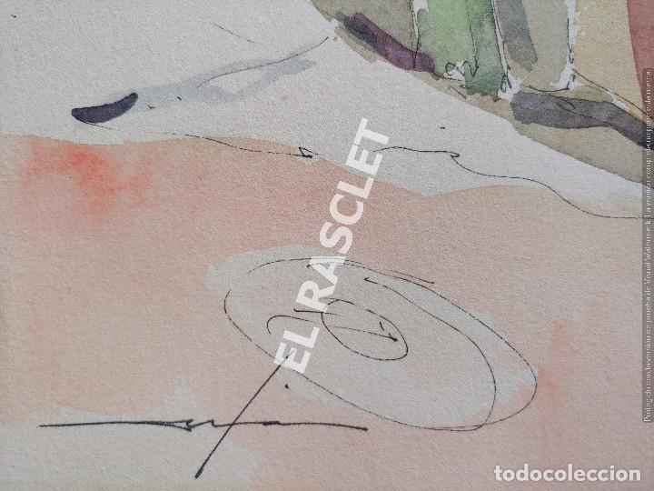 Arte: PINTURA ACURELA DE - LA MANCHA - JOSEP MARFA GUARRO DE BCN - SPAIN - - Foto 8 - 214371610