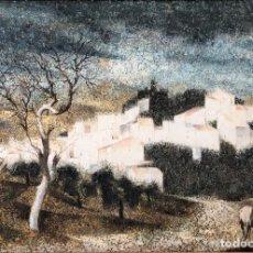 Arte: ANDALUCÍA: PUEBLO BLANCO POR JOAQUÍN CAÑETE BABOT (1933, JEREZ DE LA FRONTERA, CÁDIZ). Lote 214376676