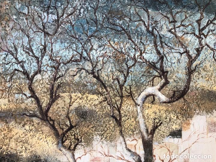 Arte: ANDALUCÍA: PUEBLO BLANCO por Joaquín Cañete Babot (1933, Jerez de la Frontera, Cádiz) - Foto 4 - 214376676