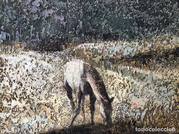 Arte: ANDALUCÍA: PUEBLO BLANCO por Joaquín Cañete Babot (1933, Jerez de la Frontera, Cádiz) - Foto 6 - 214376676
