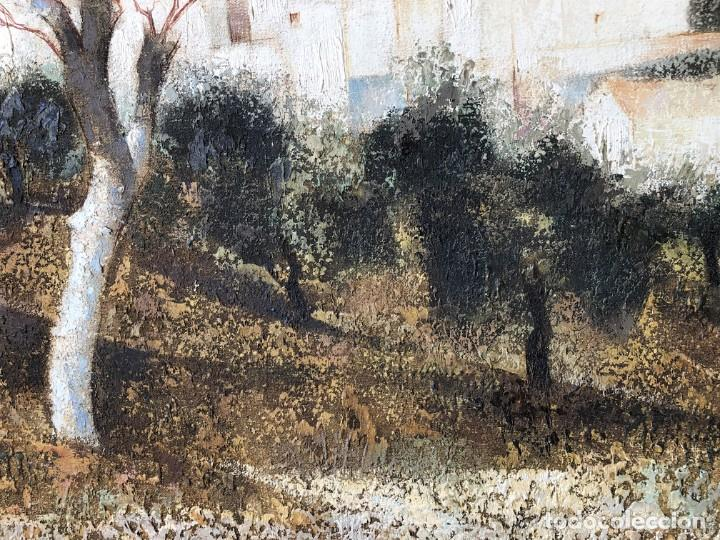 Arte: ANDALUCÍA: PUEBLO BLANCO por Joaquín Cañete Babot (1933, Jerez de la Frontera, Cádiz) - Foto 8 - 214376676