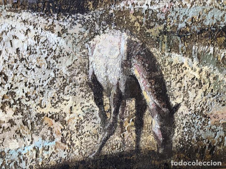 Arte: ANDALUCÍA: PUEBLO BLANCO por Joaquín Cañete Babot (1933, Jerez de la Frontera, Cádiz) - Foto 9 - 214376676