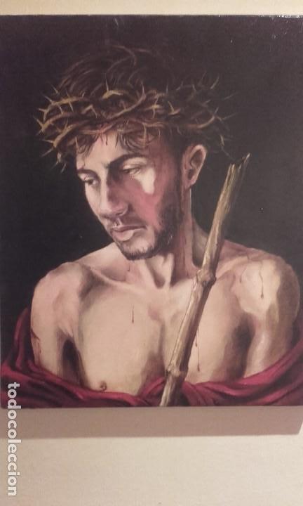 CURIOSO ECCE HOMO ADOLESCENTE / ÓLEO SOBRE LIENZO (Arte - Pintura - Pintura al Óleo Contemporánea )