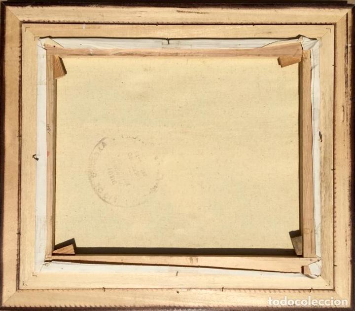 Arte: Óleo con Marina del pintor JOAN DURANY (Pobla de Segur 1927) - Foto 10 - 214469585