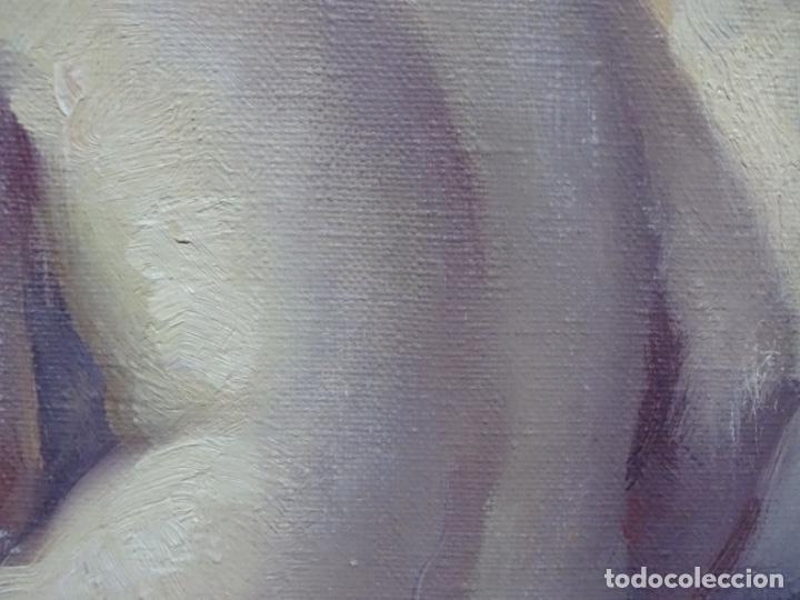 Arte: Óleo sobre tela de roser vinardell tolra.buen trazo. - Foto 6 - 214506107