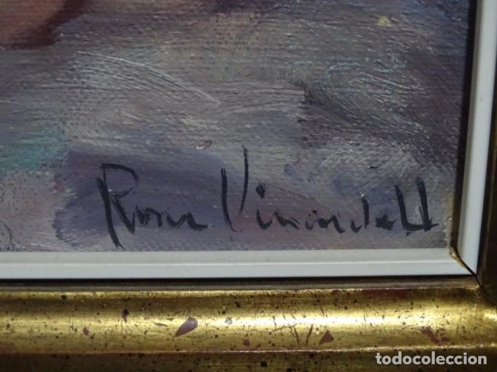 Arte: Óleo sobre tela de roser vinardell tolra.buen trazo. - Foto 9 - 214506107
