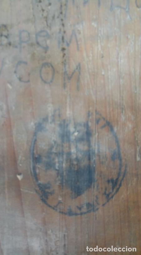 Arte: ÓLEO SOBRE TABLA, ENMARCADO EN PLATA LABRADA CONTRACTADA. ICONO RUSO XVIII. DIM.- 18.5X15 CMS. - Foto 13 - 214507918