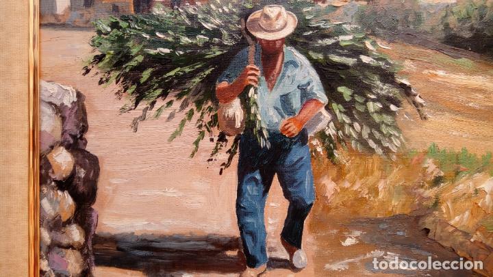 Arte: ÓLEO S/LIENZO DE VICENTE PIERNAGORDA -PAISAJE DEL ALTO ARAGÓN-. FECHADO EN 1979. DIM.-71X63,5 CMS. - Foto 4 - 214545420