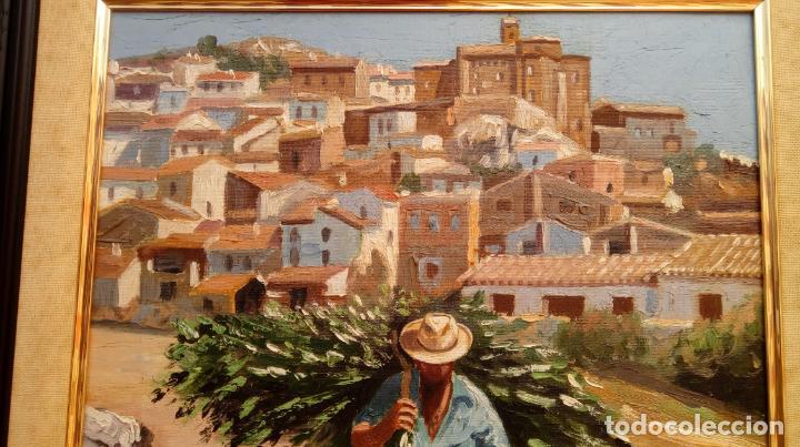 Arte: ÓLEO S/LIENZO DE VICENTE PIERNAGORDA -PAISAJE DEL ALTO ARAGÓN-. FECHADO EN 1979. DIM.-71X63,5 CMS. - Foto 5 - 214545420