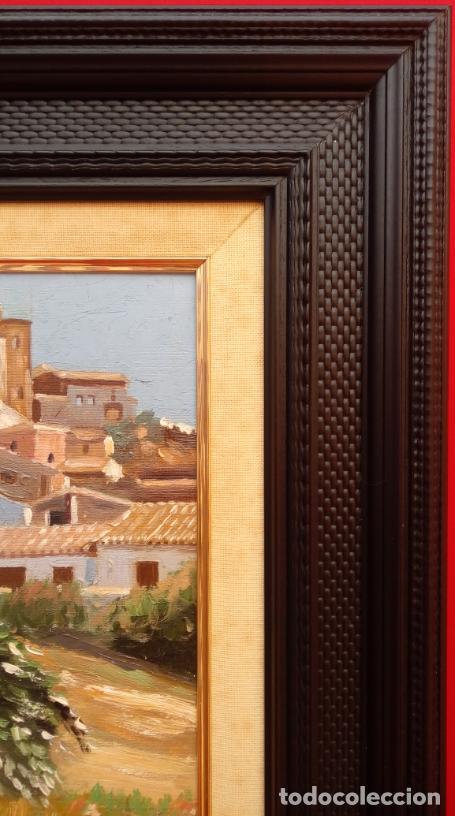 Arte: ÓLEO S/LIENZO DE VICENTE PIERNAGORDA -PAISAJE DEL ALTO ARAGÓN-. FECHADO EN 1979. DIM.-71X63,5 CMS. - Foto 6 - 214545420