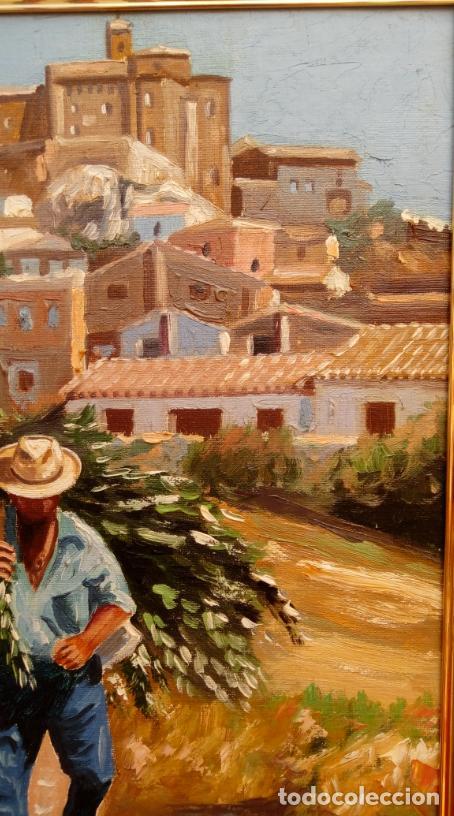 Arte: ÓLEO S/LIENZO DE VICENTE PIERNAGORDA -PAISAJE DEL ALTO ARAGÓN-. FECHADO EN 1979. DIM.-71X63,5 CMS. - Foto 8 - 214545420