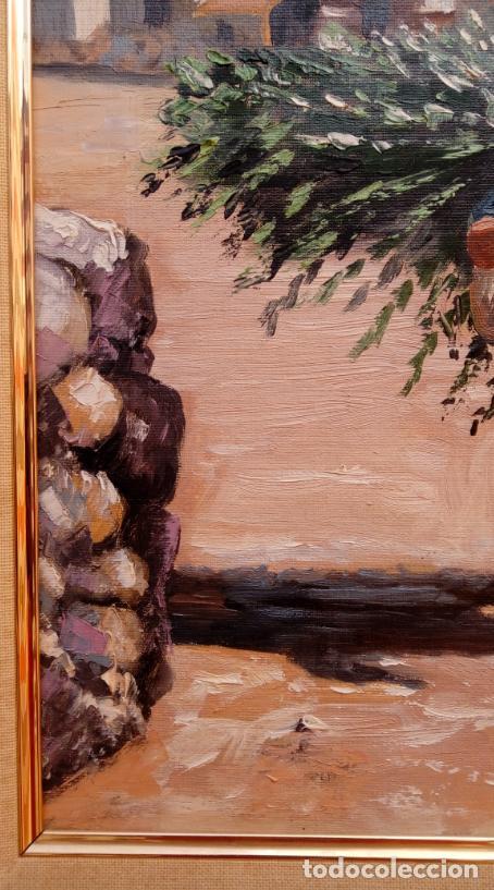 Arte: ÓLEO S/LIENZO DE VICENTE PIERNAGORDA -PAISAJE DEL ALTO ARAGÓN-. FECHADO EN 1979. DIM.-71X63,5 CMS. - Foto 10 - 214545420